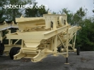 #302 Astec Portable Scalping Screen And Inclined Conveyor BO